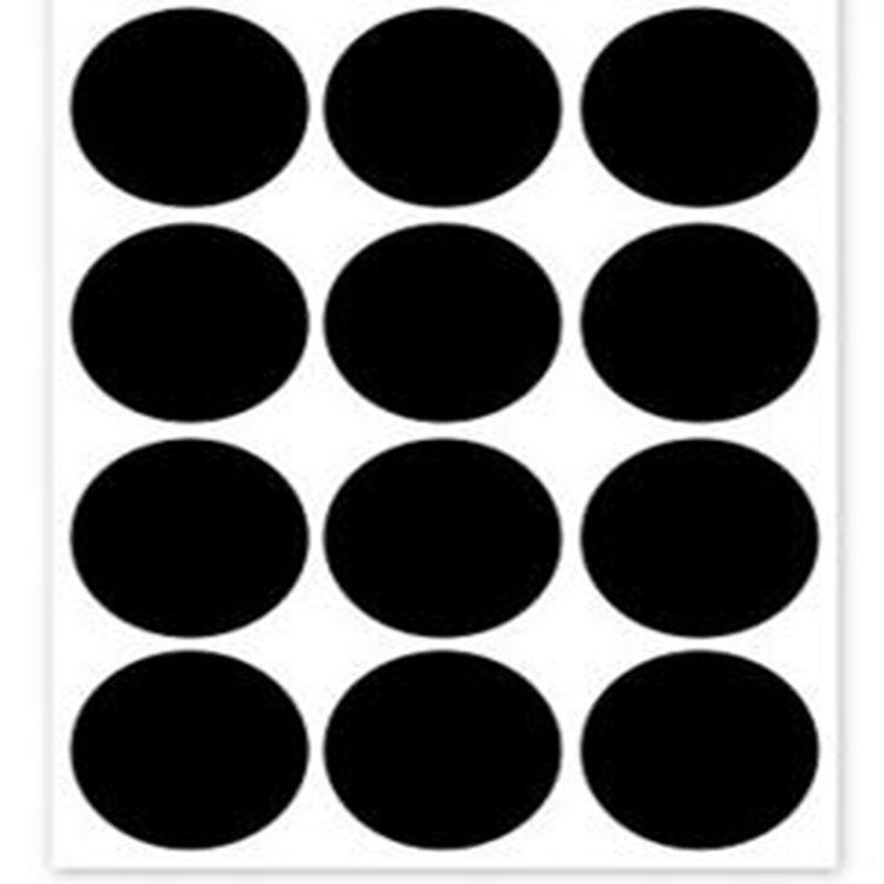 Chalkboard Labels | Vinyl PVC | Storage Labels | Mason Jar | Self-adhesive |