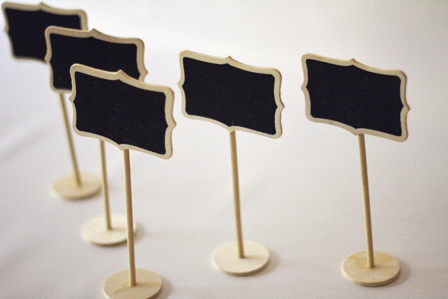 Chalkboard Sign | Mini | With Stand | Blackboard | Decorative