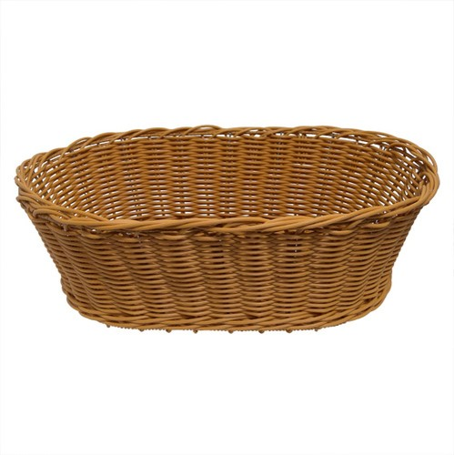 Wicker Basket Oval | FoodGrade | Display Basket Health food |