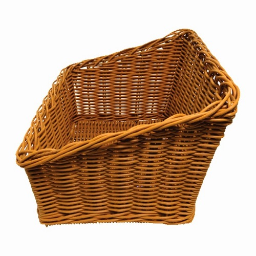 Polywicker Slanted Basket