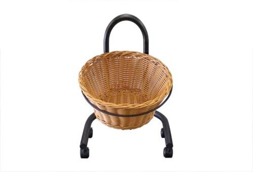 Wicker Basket round Single